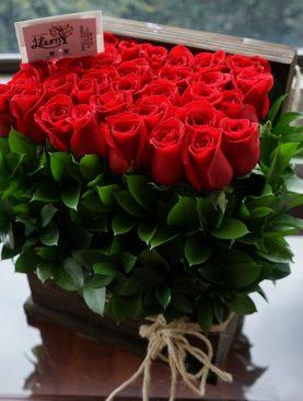 Baúles de rosas